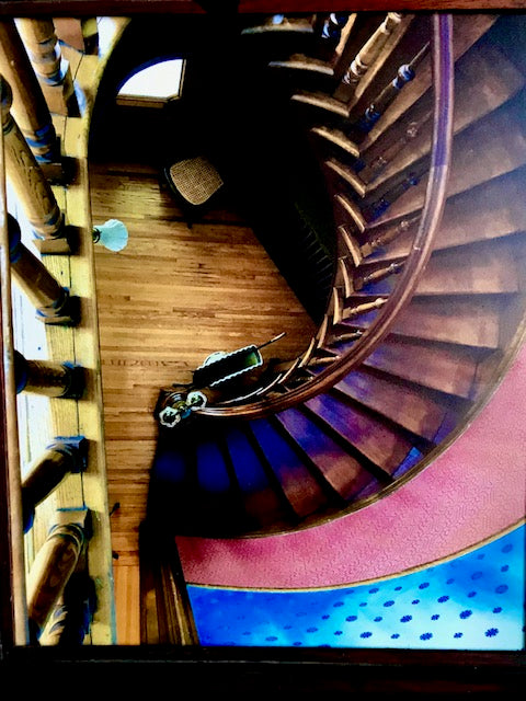 "James Pilbeam: ""Hull House Stairs"" Photograph"
