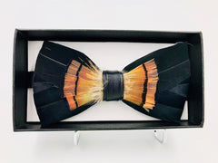 Galaxy Feather Bow Ties