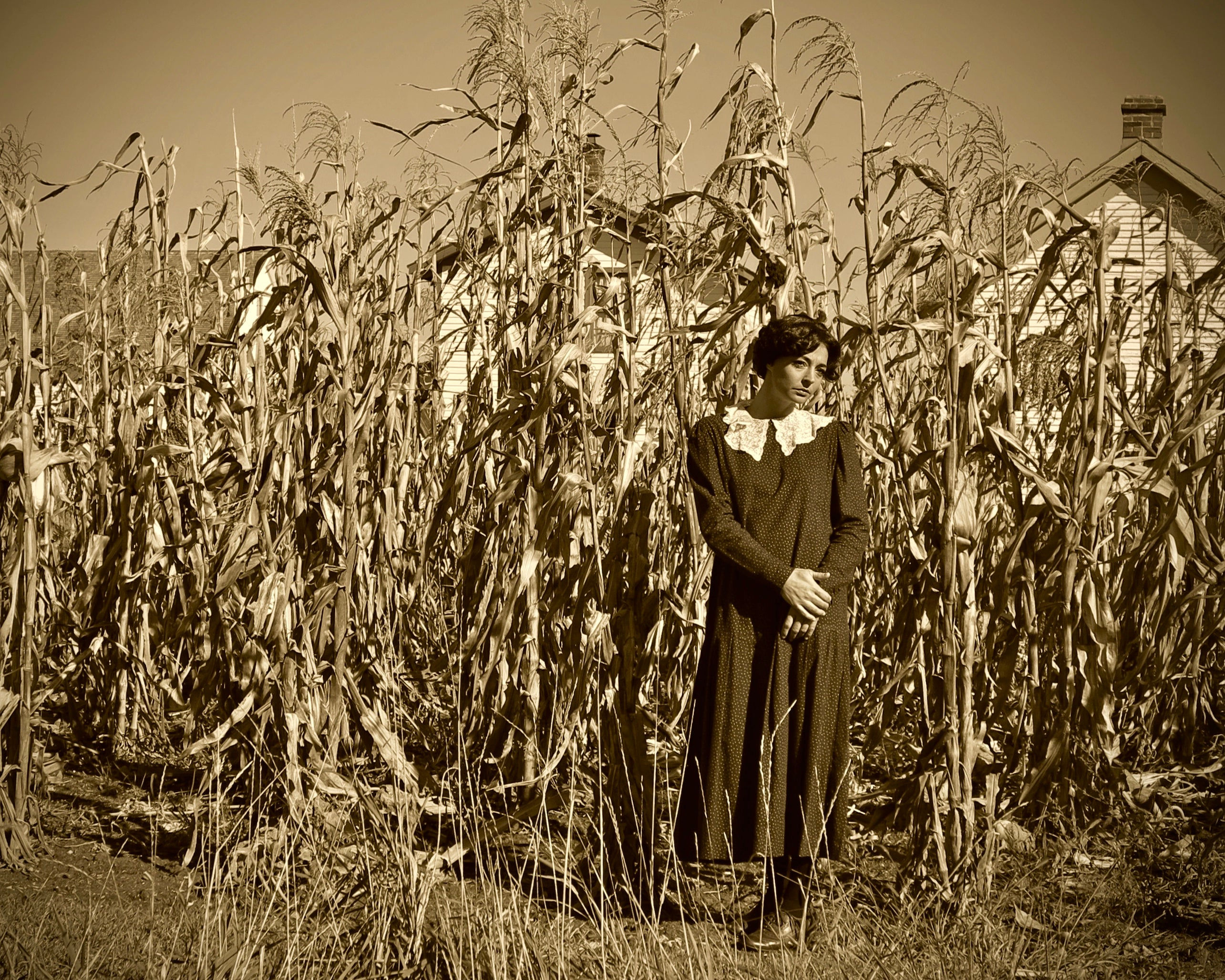"Local Artist: Jim Pilbeam ""Woman and the Corn"" Photograph"