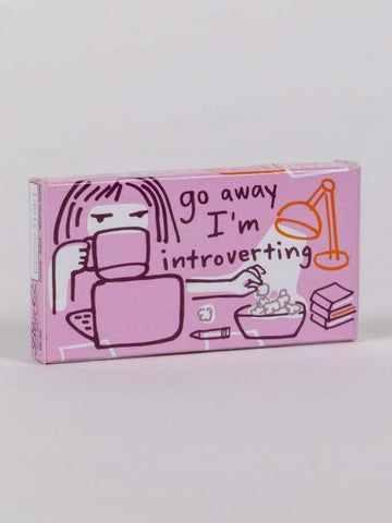 "BlueQ Gum: ""Go Away I'm Introverting"""