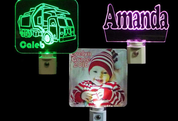 Customizable LED Signs and Night Lights