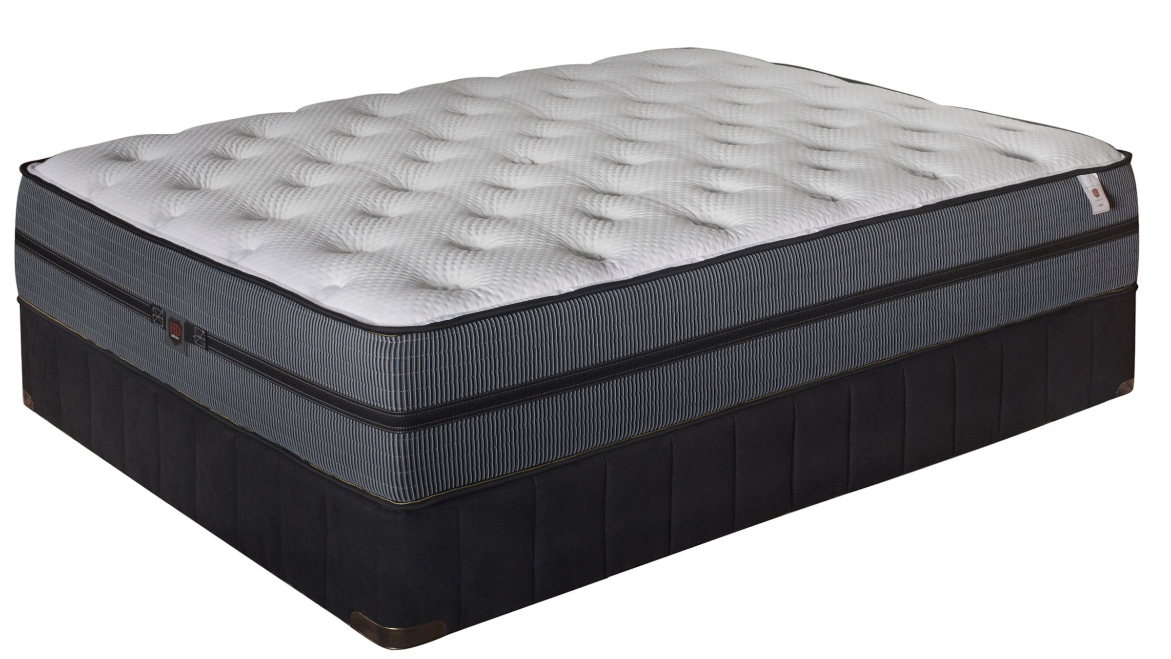 "Paramount ""Logan"" Plush Mattress and Box Spring"