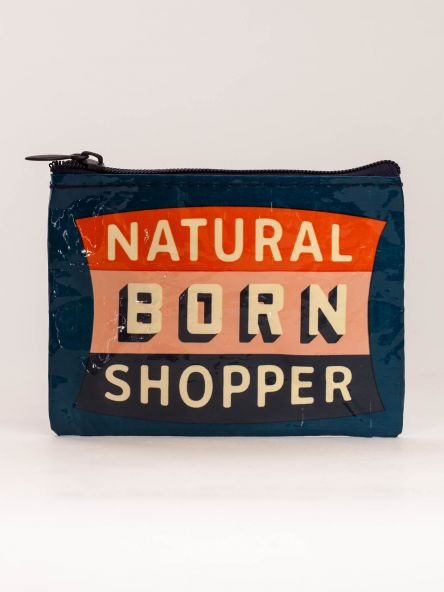 BlueQ Natural Born Shopper Coin Purse