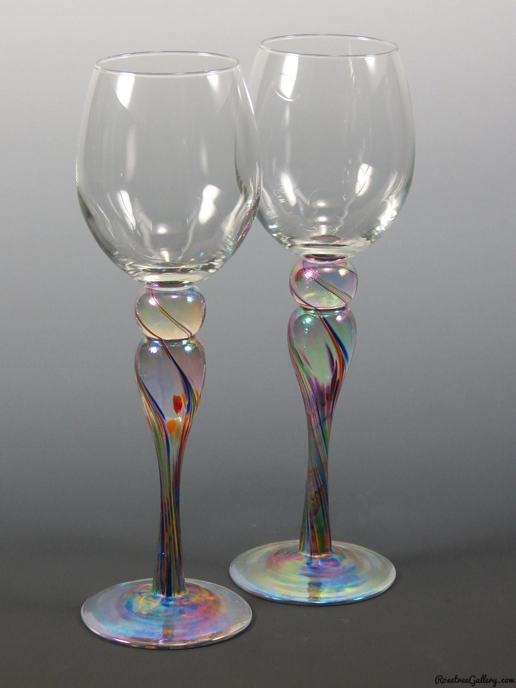 Rosetree Handcrafted Wine Glass