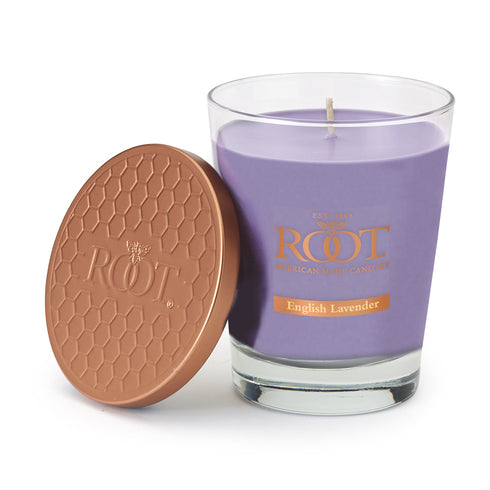 Root English Lavender Scented Large Candle