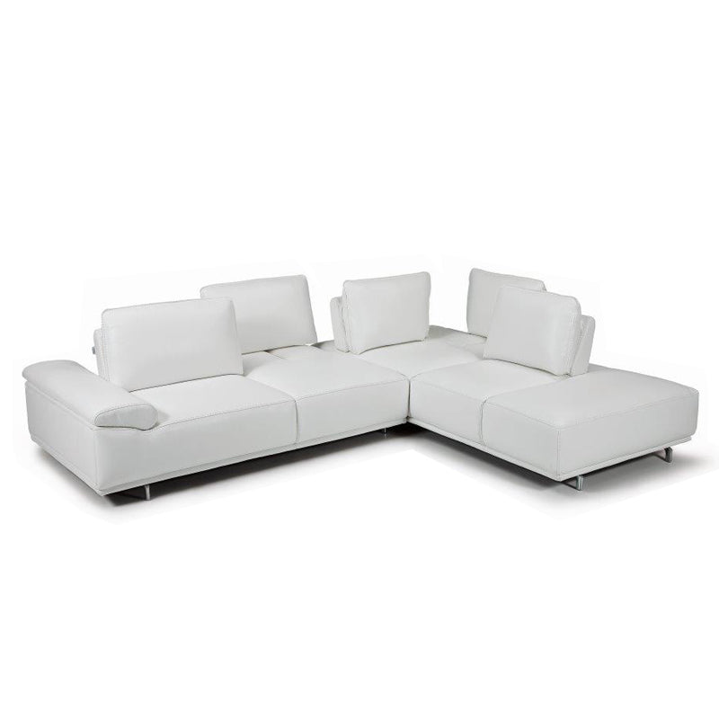 "Bellini ""Roxanne"" Italian Sectional Sofa with Movable Cushions"