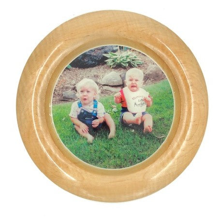 Local Artist of the Week: Richard Ruehle-Customized Maple Plate With Your Picture/Logo