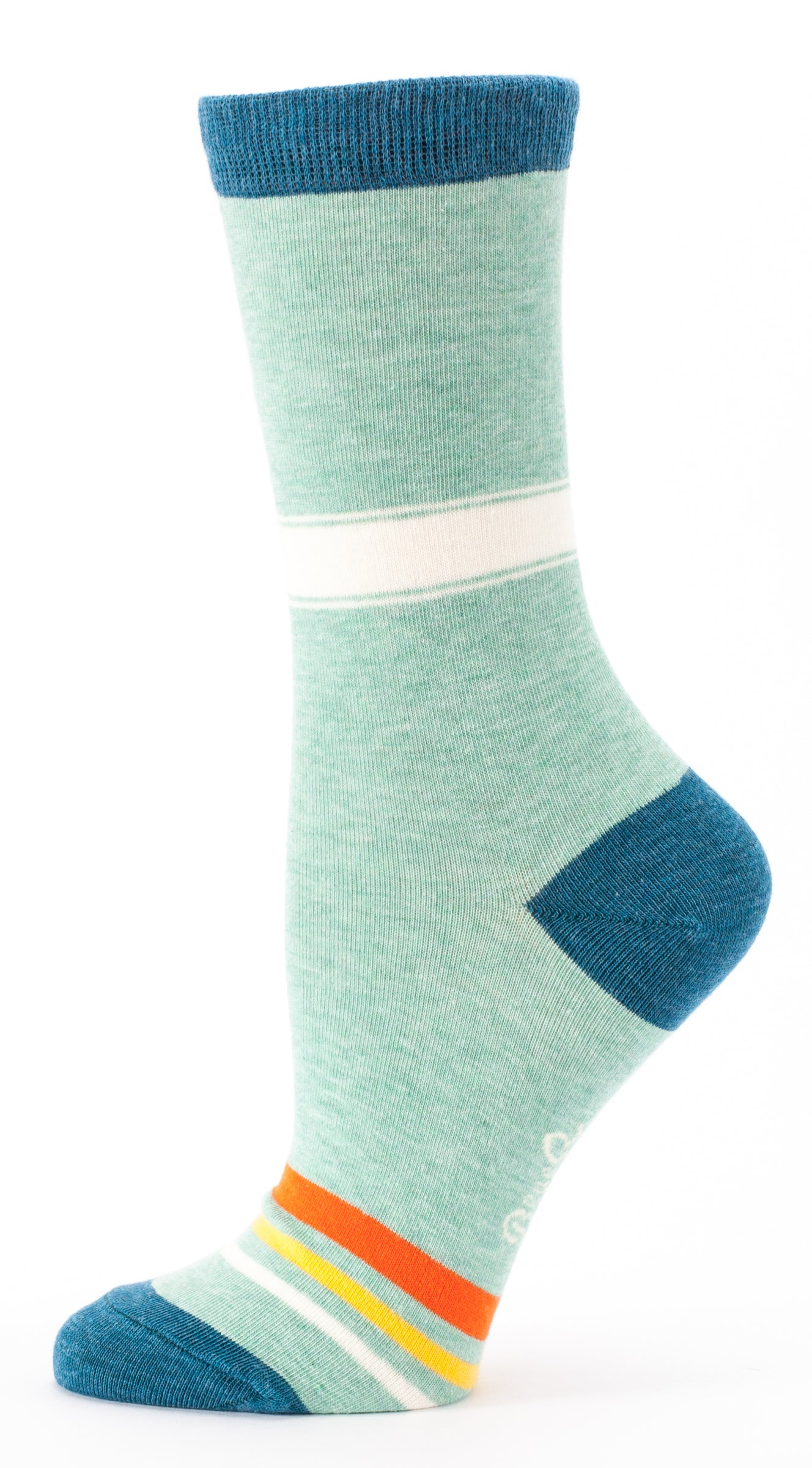 "BlueQ Women's Crew Socks ""Adult in Training"""