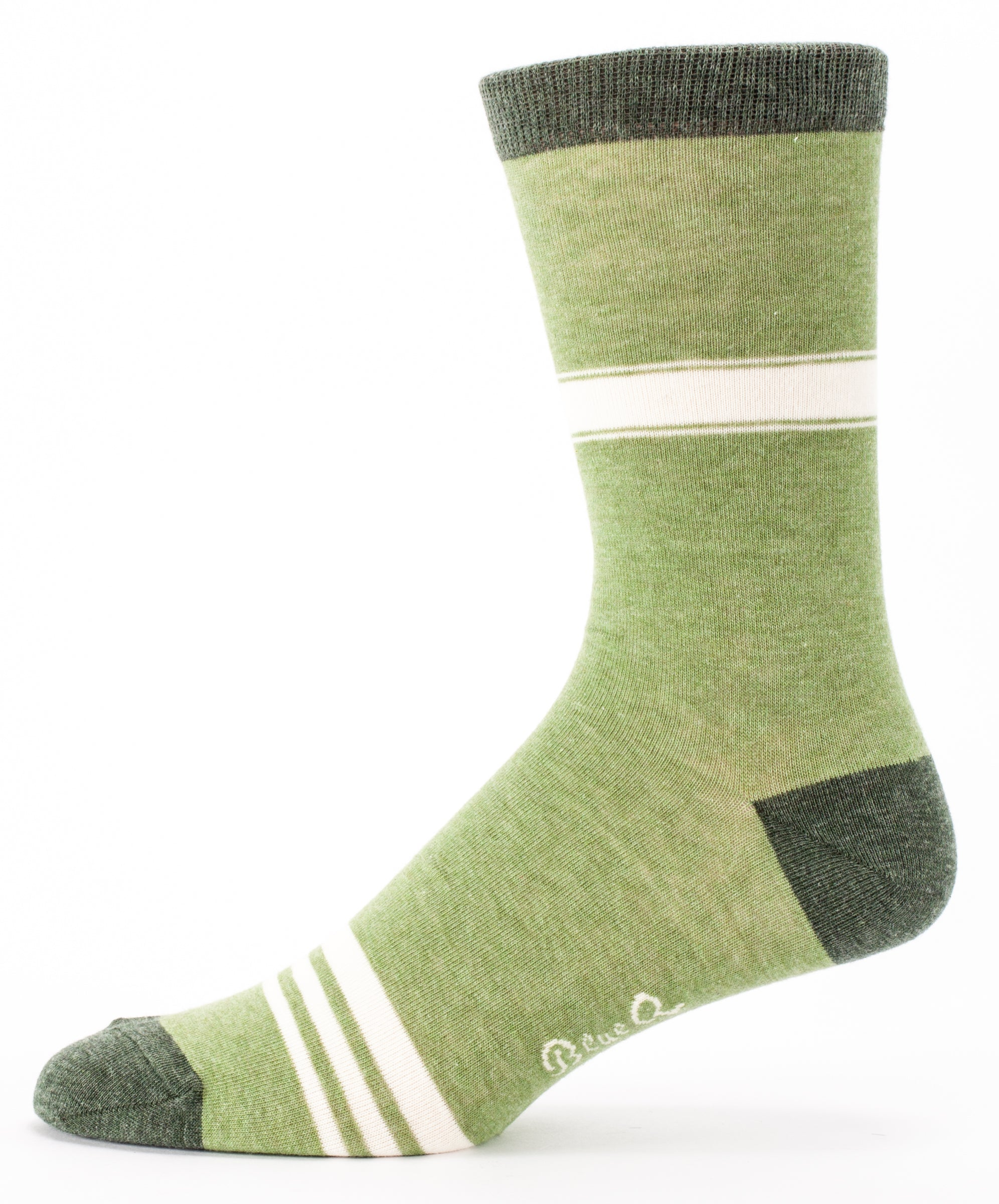 BlueQ Men's Crew Sock: Adult in Training