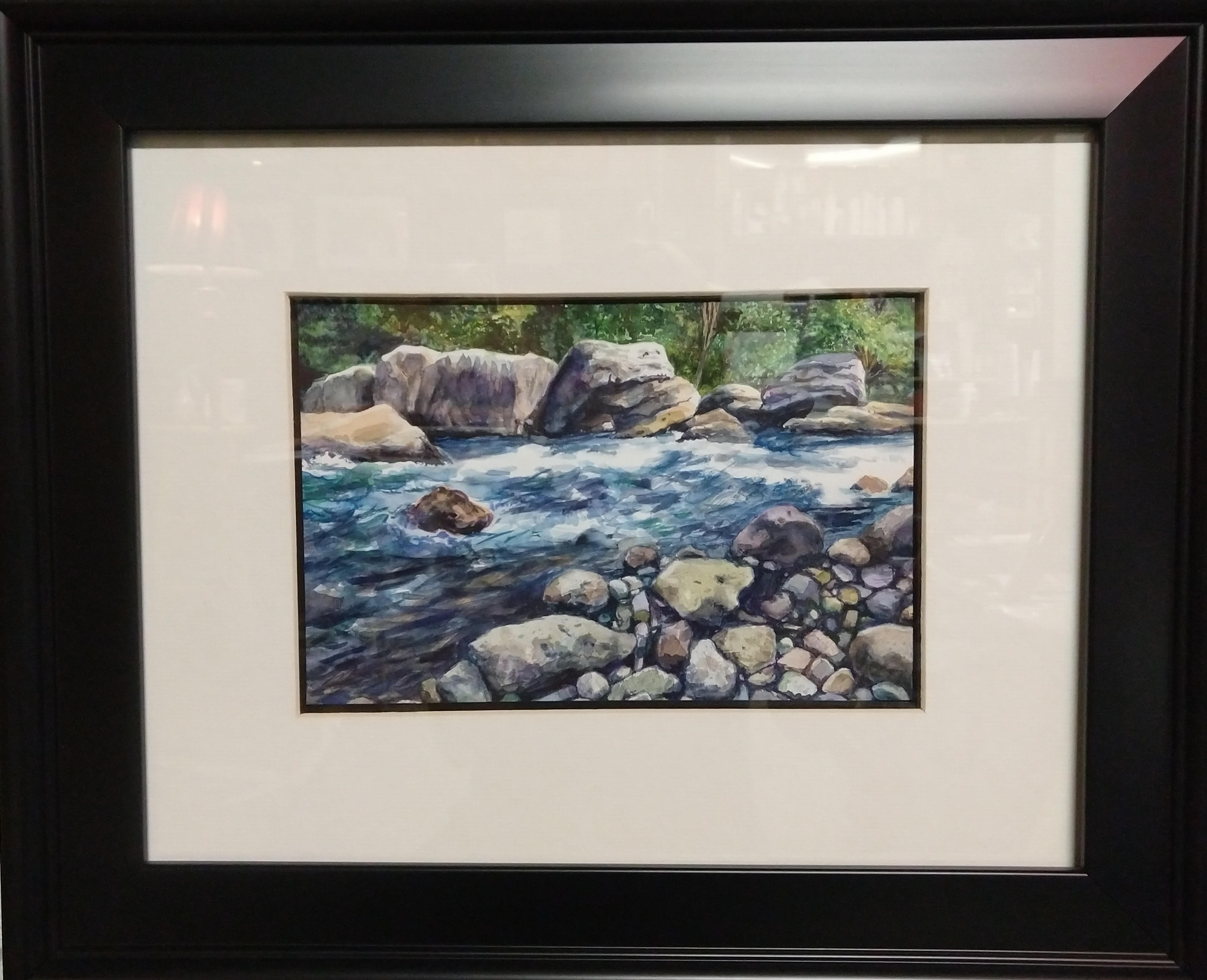 "Local Artist of the Week: Jen Sowders ""River Rock Rapids"" (2018)"