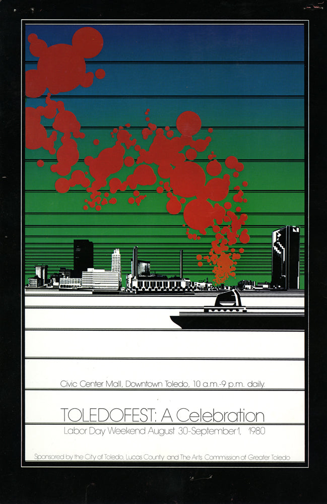TOLEDOFEST 1980 Large Limited-edition Original Poster