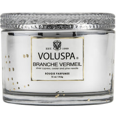 Voluspa Boxed Branche Vermeil Scented Candle w/Lid