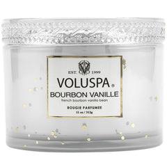 Voluspa Boxed Bourbon Vanille Scented Candle w/Lid