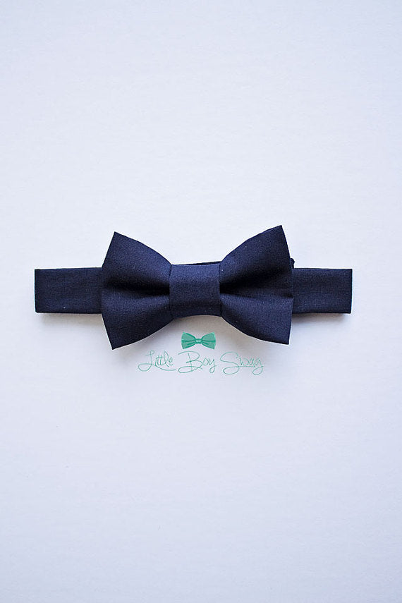 Navy Bow Tie For Boys And Men