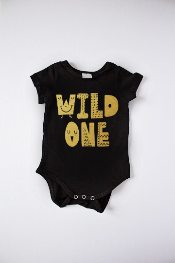 Wild One Bodysuit Gold
