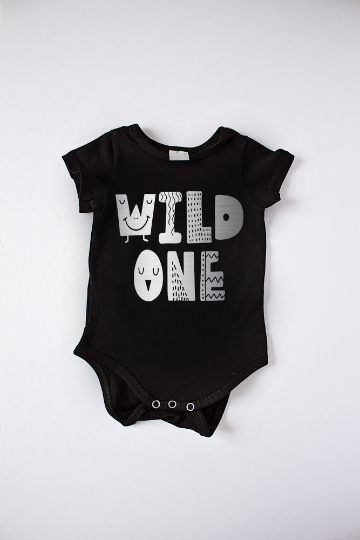 Wild One Bodysuit Silver