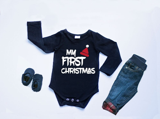 Boys Christmas Bodysuit