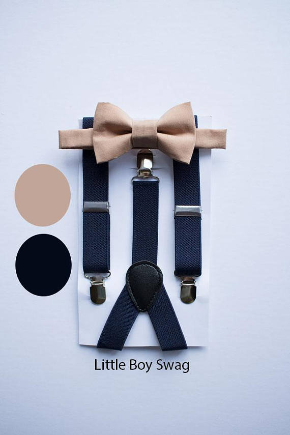 69dc7879b5b Bow Tie And Suspender Sets - Little Boy Swag