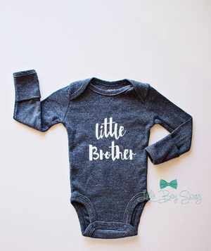 Denim Blue Little Brother Bodysuit