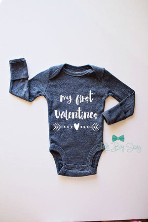 Boys First Valentines Day Bodysuit, My First Valentines Day, Boy First Valentines, Boys Gifts, Newborn Gift, Baby Outfit, Valentines Day Top