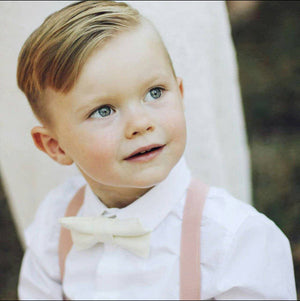 First Birthday Outfit Boy, Gold Bow Tie Mint Suspenders,  Boys Easter Outfit, Ring Bearer, Boys Cake Smash, Beach Wedding