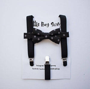 Boys Black Bow Tie, Mens Bow Tie, First Birthday Outfit, Ring Bearer Bow Tie, Baby Boy Bow Tie, Wedding Bow Tie, Kids Bowtie, Boy Cake Smash