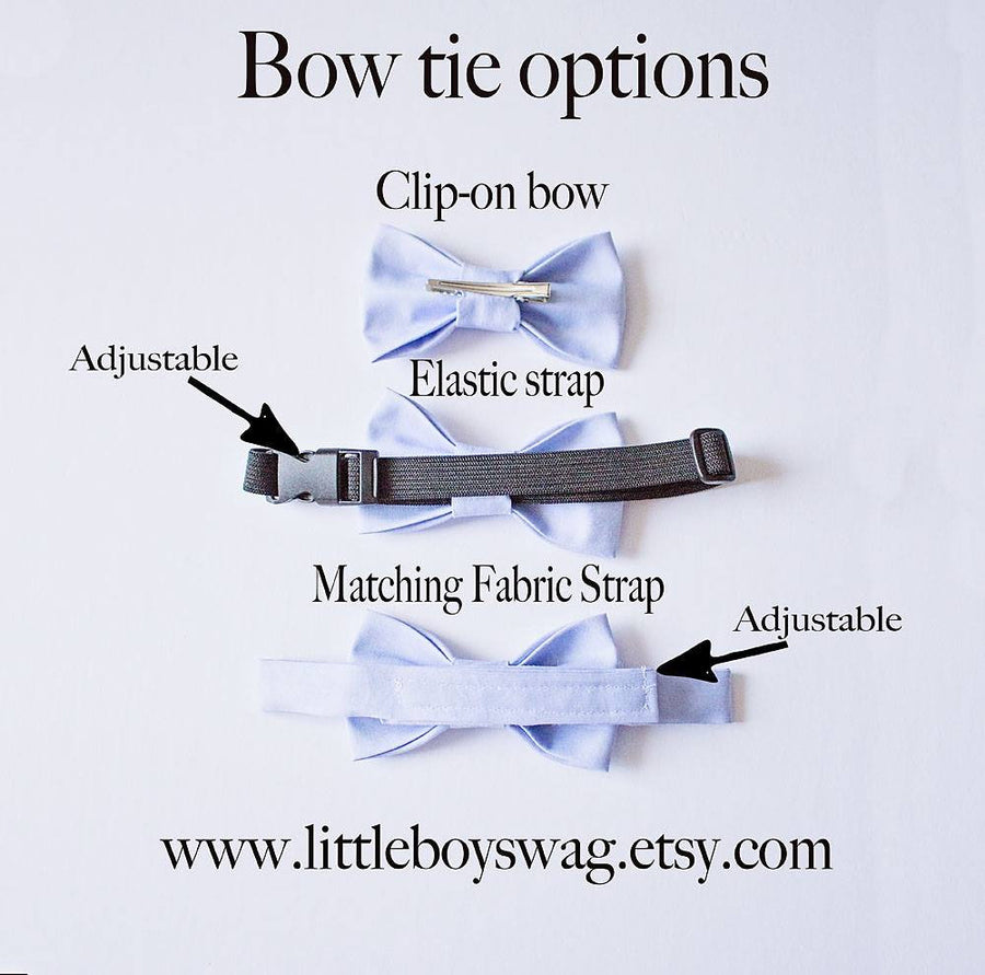 Black Bow Tie - Boys To Men Sizes