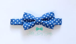 Navy Blush Floral Bow Tie for Father's Day Gift, Father Son Matching, Ring Bearer/Page Boy, Weddings, Gift for Boys,Toddlers, Kids,Men