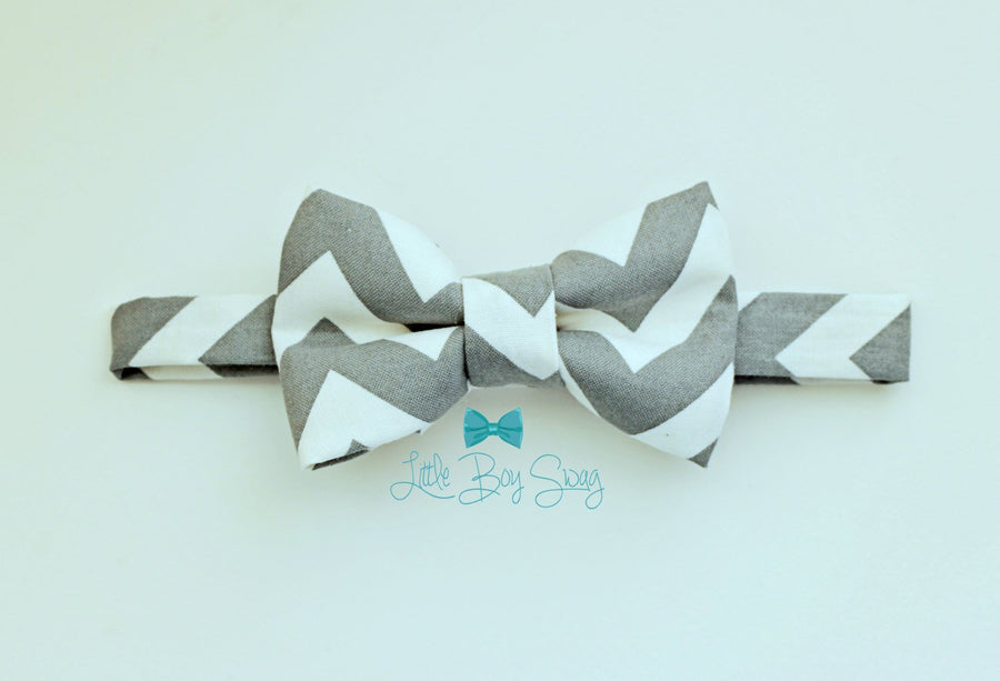 Baby Boy Grey Bow Tie, Ring Bearer Bow Tie, 1st Birthday Boy, Boys Bow Tie, Wedding Bow Tie, Mens Bow Tie, Boys Gift, Boys Formal Wear, Boys