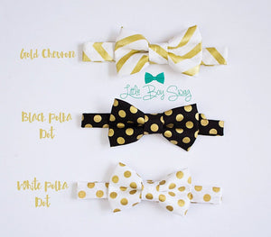 Gold Polka Dot Bow Tie..Boys Suits..Suits..Kids Clothing..Boys Clothes..Boys bow tie..Ring Bearer..Wedding..Kids Bow Tie..Best Man gift..Boy