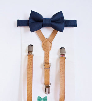 Boys Personalized Leather Suspenders, Ring Bearer Outfit, Boys First Birthday, Boys Gift, Boys Clothes, Boys Suspenders, Monogram Suspenders