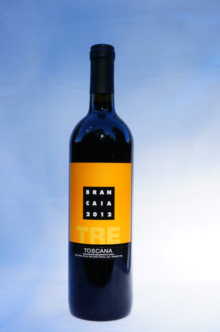 Brancaia IGT Rosso Toscano TRE Red Blend (Tuscany, Italy) - 2012