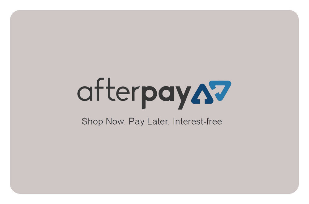 Fudge Gifts Home Lifestyle - Afterpay Information Link Card
