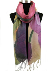 Rectangle Digitally Printing Scarves