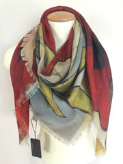 Digitally Printed Scarves-Square R