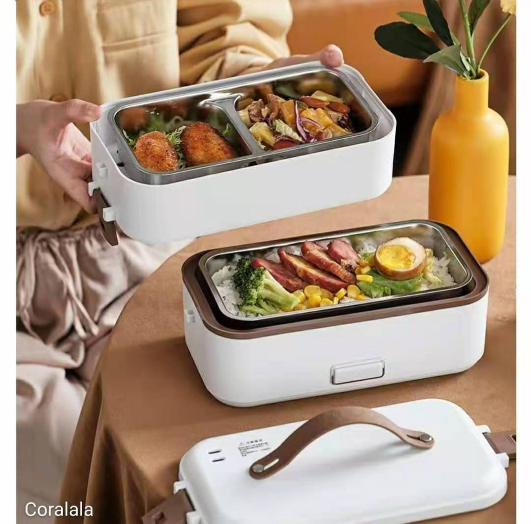 Electric Food Container with Insulated Lunch Bag