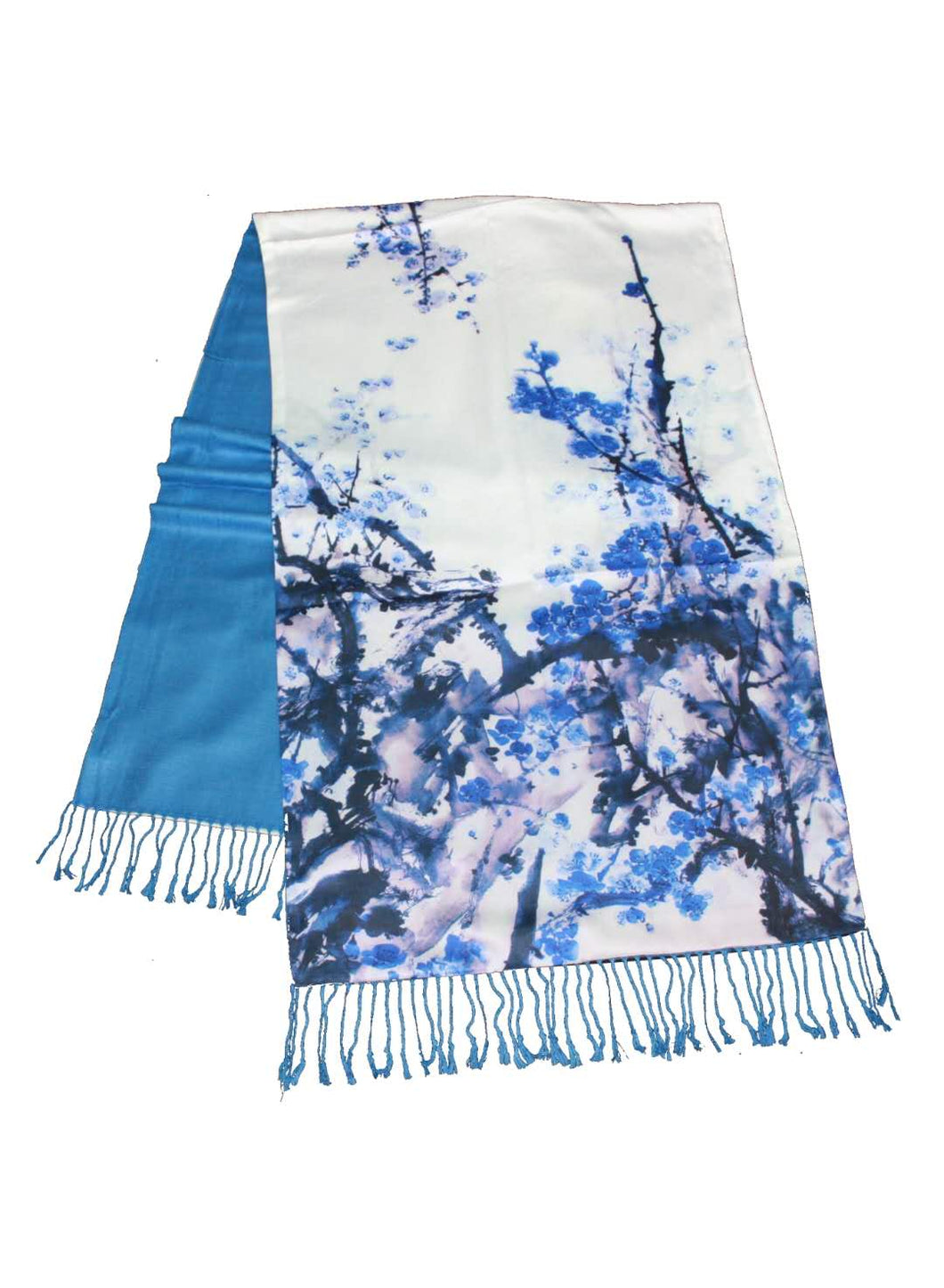 Double Sided Silk Shawl