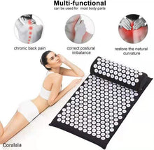 Load image into Gallery viewer, Acupressure Mat and Neck Pillow Set