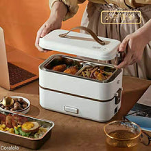 Load image into Gallery viewer, Electric Food Container with Insulated Lunch Bag