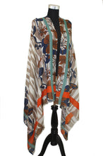 Load image into Gallery viewer, Abstract Floral Print Scarf