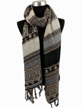 Load image into Gallery viewer, Boho Style Textured Scarf
