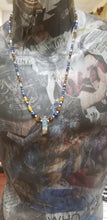 Load image into Gallery viewer, Tiger Eye Lapis Lazuli Necklace