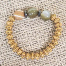 Load image into Gallery viewer, Wood Agate Bracelet