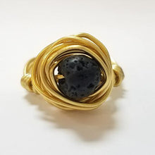 Load image into Gallery viewer, Essential Oils Rings 0100