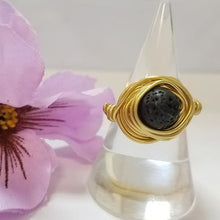 Load image into Gallery viewer, Essential Oils Rings 0104