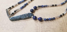 Load image into Gallery viewer, Agate Lapis Lazuli Onyx Necklace