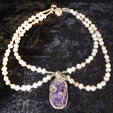 Load image into Gallery viewer, Amethyst Geode Choker/Necklace