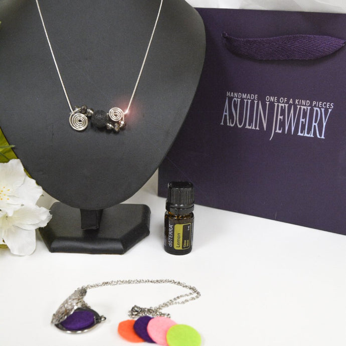Essential Oils Necklaces 0403