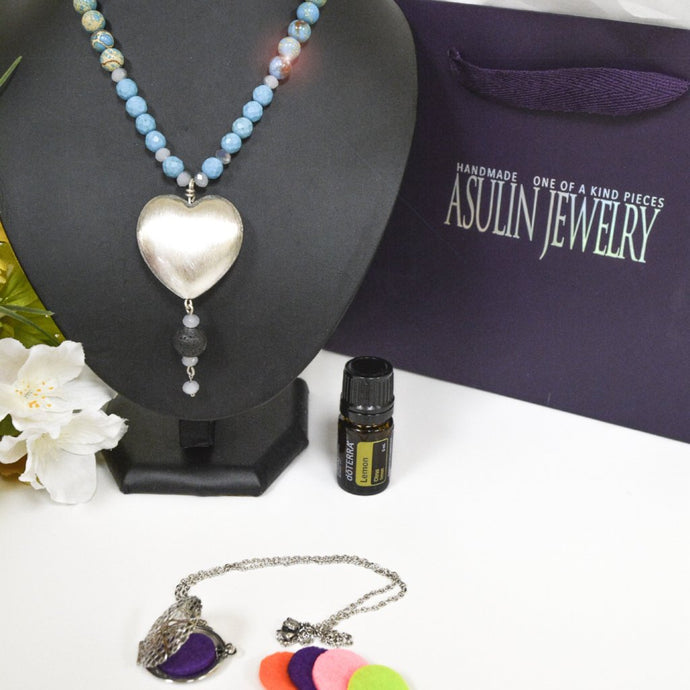 Essential Oils Necklaces 0411