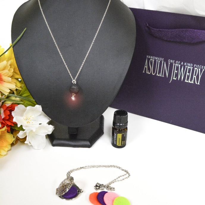 Essential Oils Necklaces 0418